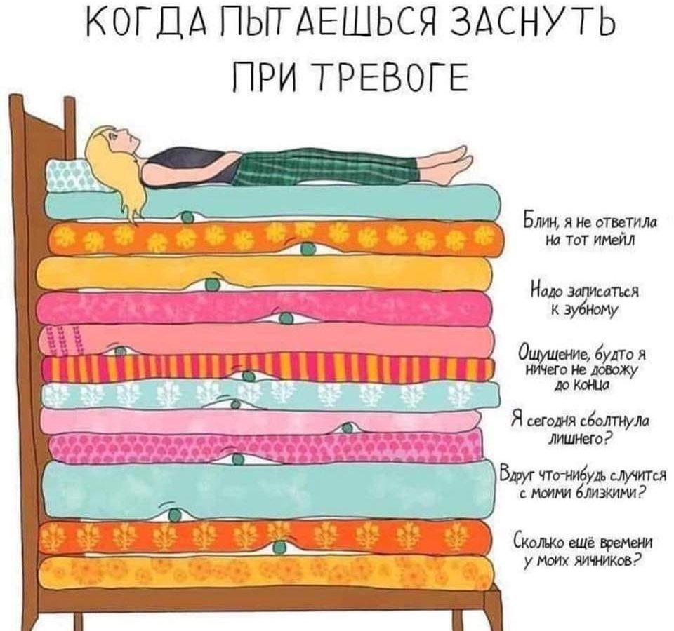 Нарушения сна, состояние после бессонной ночи